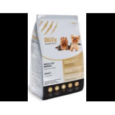 BLITZ ADULT MINI & TOY (корм для взрослых собак миниатюрных и мелких пород)