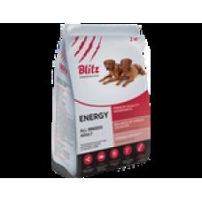 BLITZ ADULT ENERGY DOG /корм для активных, рабочих и спортивных собак/ НОВИНКА!