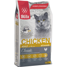 BLITZ ADULT CATS CHICKEN (корм для взрослых кошек с курицей)