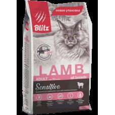 BLITZ ADULT CATS LAMB (корм для взрослых кошек с ягненком)