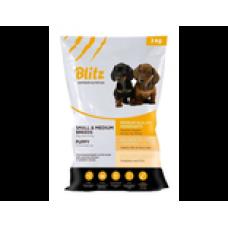 BLITZ PUPPY SMALL & MEDIUM BREEDS (корм для щенков мелких и средних пород)