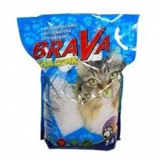 Brava Силикагель Классик для кошек 7,6л.