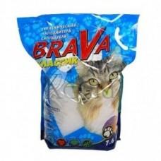 Brava Силикагель ЛЮКС для кошек 7,6л.