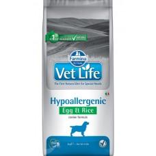 Farmina Vet Life Dog Hypoallergenic Egg & Rice - гипоаллергенный корм с яйцами и рисом