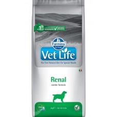 Farmina Vet Life Dog Renal - корм для собак с почечными заболеваниями