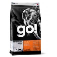 GO! NATURAL корм для щенков и собак со свежим лососем и овсянкой