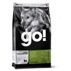 GO! NATURAL беззерновой корм для щенков и собак с индейкой для чувствительного пищеварения