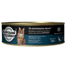 Хороший Хозяин консервы для котят Перепелка 100г