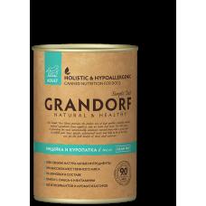 Консервы GRANDORF для собак всех пород с индейкой и куропаткой