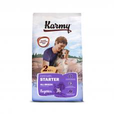 Karmy Starter - корм для щенков всех пород 4-х месяцев, беременных и кормящих сук с индейкой
