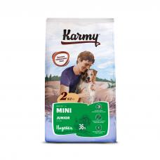 Karmy Mini Junior Индейка - корм для для щенков мелких пород в возрасте до 1 года