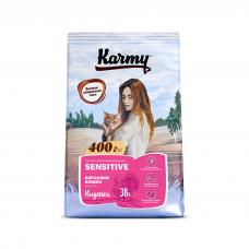 Karmy Sensitive - корм для кошек с чувствительным пищеварением