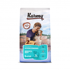 Karmy Hyppoallergenic Medium&Maxi - корм для собак средних и крупных пород, склонных к пищевой аллергии