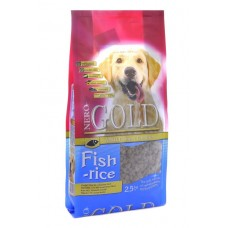 Корм для взрослых собак: рыбный коктейль, рис и овощи (Fish&Rice 24/13)