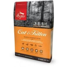 ОРИДЖЕН КЭТ(85/15) /корм для котят и кошек всех пород/ 1,8 кг