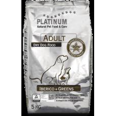 Платинум Иберийская свинина зелень для взрослых собак
