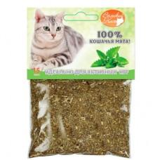 Мята молотая для кошек