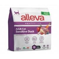 Alleva Equilibrium Sensitive для взрослых кошек с уткой