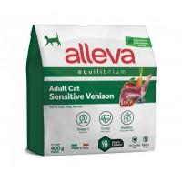Alleva Equilibrium Sensitive для взрослых кошек с олениной