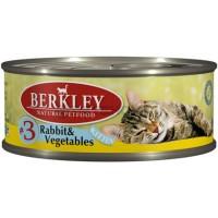 Беркли 003. Киттэн 100гр, кролик овощи