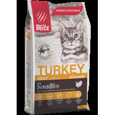 BLITZ ADULT CATS TURKEY (корм для взрослых кошек с индейкой)