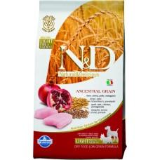Farmina N&D Low Grain Chicken & Pomegranate Light