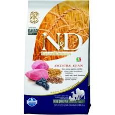 Farmina N&D Low Grain Lamb & Blueberry Adult Maxi