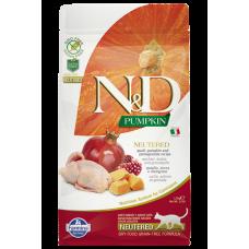 N&D Cat GF Pumpkin Neutered Quail