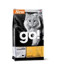 GO! NATURAL беззерновой корм для котят и кошек с чувствительным пищеварением со свежей уткой