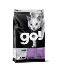 GO! NATURAL беззерновой корм для котят и кошек - 4 вида мяса: Курица, Индейка, Утка и Лосось