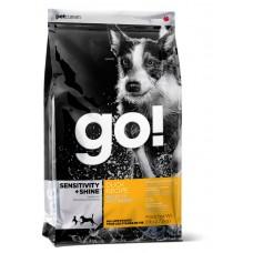 GO! NATURAL корм для щенков и собак с цельной уткой и овсянкой