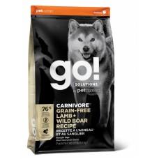 Корм GO! беззерновой для собак всех возрастов c ягненком и мясом дикого кабана, GO! CARNIVORE GF