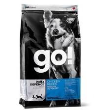 GO! NATURAL корм для щенков и собак с цельной курицей, фруктами и овощами