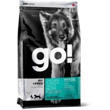 GO! NATURAL беззерновой корм для собак всех пород - 4 вида мяса: Индейка, Курица, Лосось, Утка