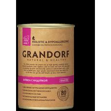 Консервы GRANDORF для собак всех пород с буйволом и индейкой