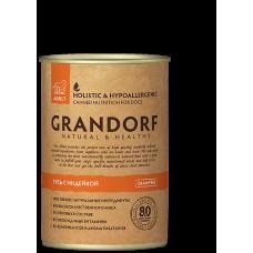 Консервы GRANDORF для собак всех пород с гусем и индейкой