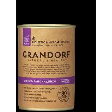 Консервы GRANDORF для собак всех пород с диким кабаном и индейкой