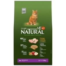 Guani Natural для взрослых кошек с цыпленком и коричневым рисом