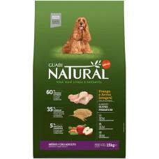Guabi Natural для взрослых собак средних пород с цыпленком и коричневым рисом