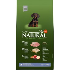 Guabi Natural для взрослых собак мелких пород - ЛАЙТс индейкой и овсом
