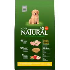 Guabi Natural для щенков крупных пород  с цыпленком и коричневым рисом