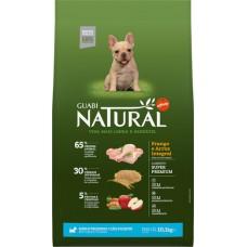 Guabi Natural для щенков мелких пород с цыпленком и коричневым рисом