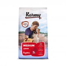 Karmy Medium Junior Индейка - корм для для щенков средних пород в возрасте до 1 года