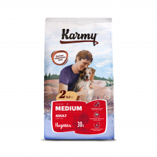 Karmy Medium Adult Индейка - корм для для взрослых собак средних пород
