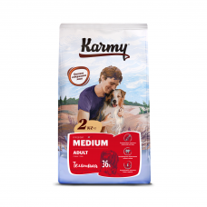 Karmy Medium Adult Телятина - корм для для взрослых собак средних пород