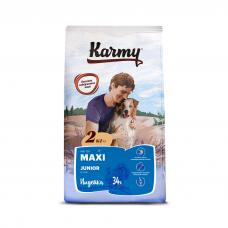 Karmy Maxi Junior Индейка - корм для для щенков крупных пород в возрасте до 1 года