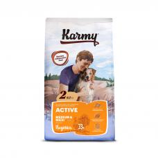 Karmy Active Medium&Maxi - корм для собак средних и крупных пород с повышенной активностью