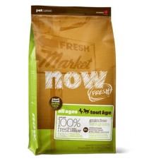 NOW NATURAL беззерновой корм для взрослых собак с индейкой, уткой и овощами