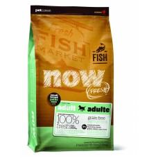 NOW Natural holistic беззерновой корм для взрослых собак малых пород с форелью, лососем и овощами