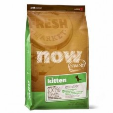 NOW NATURAL беззерновой корм для котят с индейкой, уткой и овощами